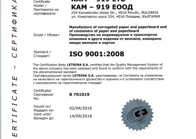 CERTIFICATE ISO-9001_2008